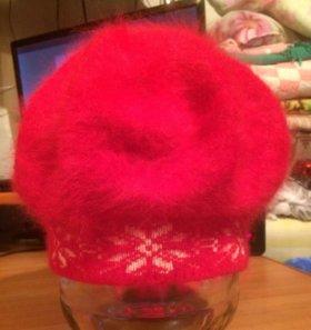 Пуховую шапочку