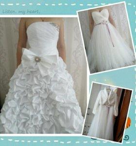 Свадебные платья ( прокат или продажа)