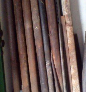 Продам трубы металлические буровые диаметр 90,60