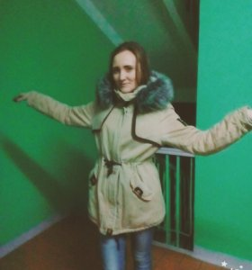 Парка женская , куртка