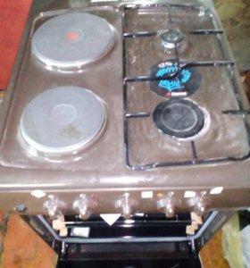 Комбинированная плита HANSA духовка электрическая,