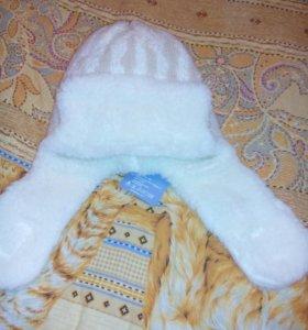 Польские шапочки с шарфиком