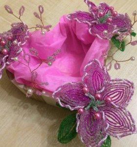 Подарок из цветов!