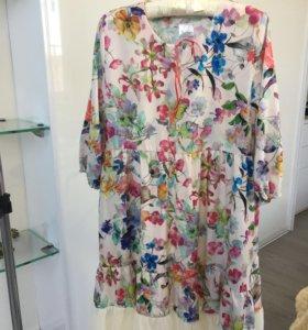 Платье шифоновое ( новое)