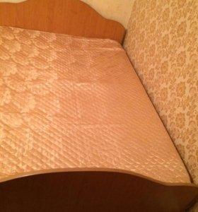 Две двуспальные кровати