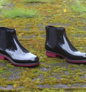 Непромокаемые ботильоны