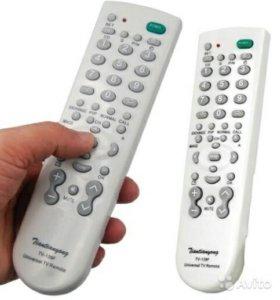 Универсальный пульт для любого ТВ