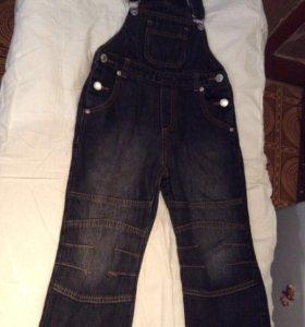 Комбез на мальчика джинс