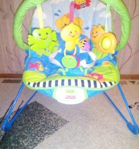 Детская кресло кочалка.