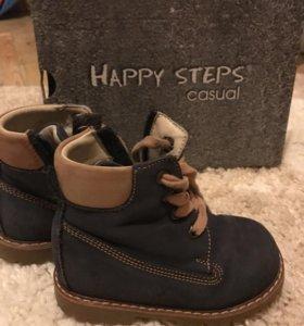 Детские демисезонные ботиночки Happy steps