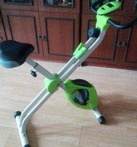 Складной велотренажер X-bike