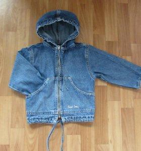 Джинсовая курточка(джинсовка)