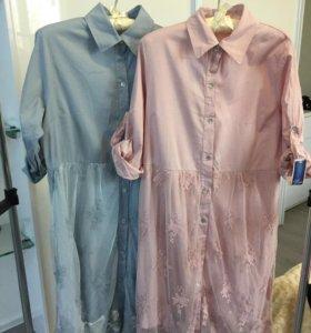 Платье гипюровое( новое)