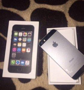 Айфон 5s цвет чёрный