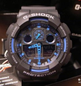 Часы Casio G-Shock GA-100-1A2 новые