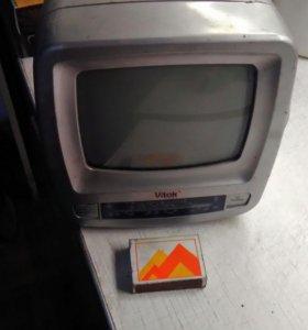 Телевизор радио диагональ 12 см рабочий
