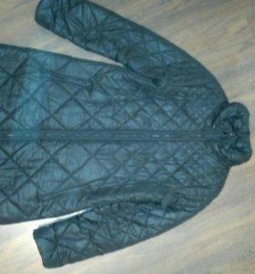 Пальто на синтепоне чёрное