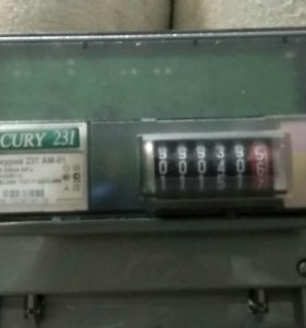 Счетчик 3-х фазный меркурий