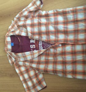 Рубашка 2в1