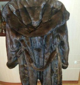 Норковая шуба 44-46 размера