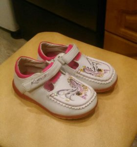 Кожаные туфельки Кенгуру