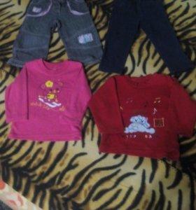 Одежда для девочки 1-2 года