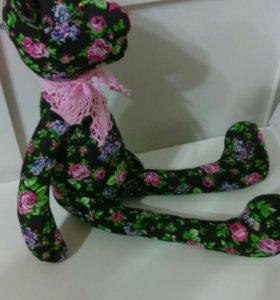 Интерьерная игрушка сувенир подарок мишка Тильда
