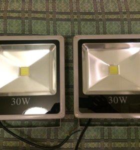 Прожектор светодиодный 30Вт (smd-матрица) холодный