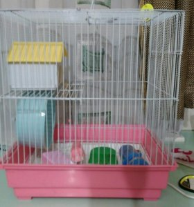 Продаю клетку для хомячка