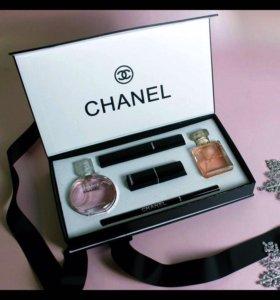 Потрясающий подарочный набор Chanel 5 в 1