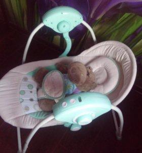 Детские электрические качели