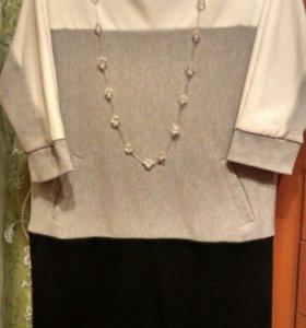 Платье - туника размер 48