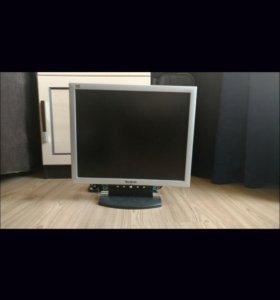 Монитор ЖК View Sonic VE710s 17дюймов б/у