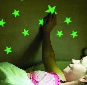 Звёзды светятся в темноте (фосфорные)