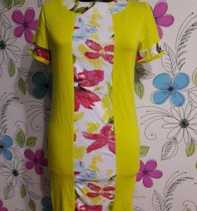 Летнее новое платье