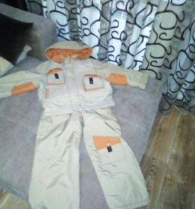Осенний костюм Квартет размер 110