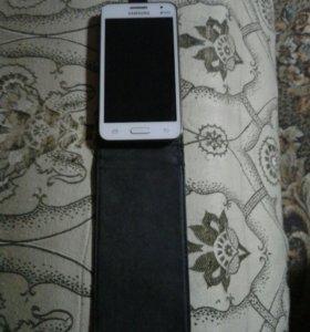 """Телефон""""Самсунг CORE 2 в отличном состоянии с чехл"""