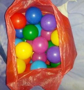 Мячики 40 шт