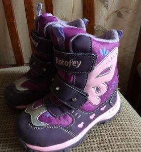 Красивые ботинки на девочку