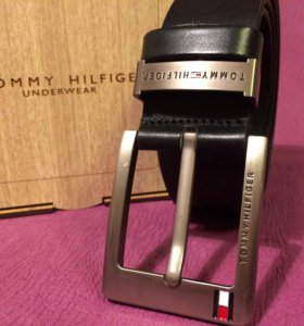 Ремень Tommy Hilfiger кожаный