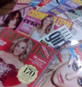 Отдам стопку журналов