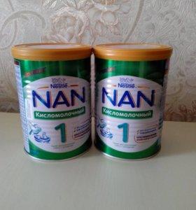 NAN кисломолочный с 0-6 мес.по 400г.