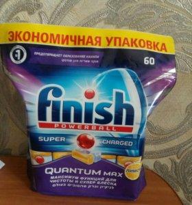 Таблетки finish для посудомоечных машин 60шт