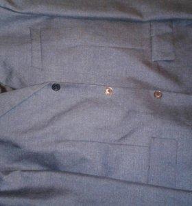 Костюм (пиджак, жилетка,брюки) на 12-14 лет