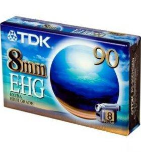Видеокассета TDK E-HG 8mm 90
