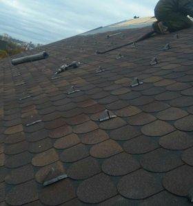 Строительство .фундаменты,крыша,отделка,електрика.