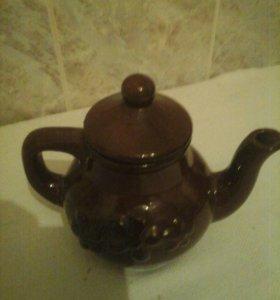 Советский чайник заварочный