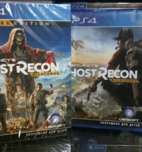 Tom clancys Ghost Recon ps4