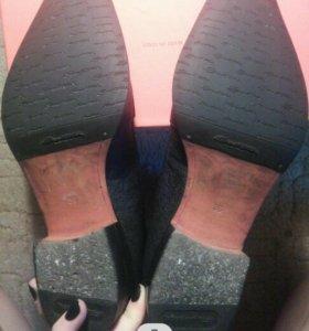 Полусапоги ботинки santoni