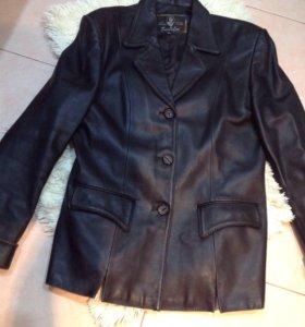 Кожаная куртка р3XL